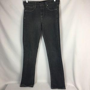 Calvin Klein Blk Stretch Cotton Blend Skinny Jeans